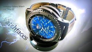 Coole Watchfaces für Samsung GalaxyWatch und Gear S3