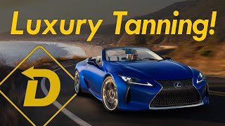 Escape In Luxury! The 2021 Lexus LC 500 Convertible Is High Concept Tanning.