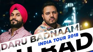 Daru Badnaam | India Tour 2018 | Param Singh & Kamal Kahlon | Pratik Studio | VIP Records