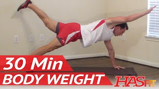 HASfit Body Weight Workout Bodyweight Exercises without Weights Free Exercise with no Equipment by HASfit