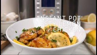 Instant Pot Zesty Lemon Chicken
