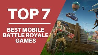 7 GAMES LIKE FORTNITE AND PUBG / TOP BEST BATTLE ROYALE FOR ANDROID AND IOS