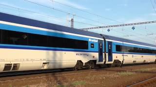 150.202-0 DKV Praha přepravuje 6. jednotku Railjet na a po reprofilaci kol