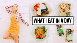 What I Eat in a Day (College Student)