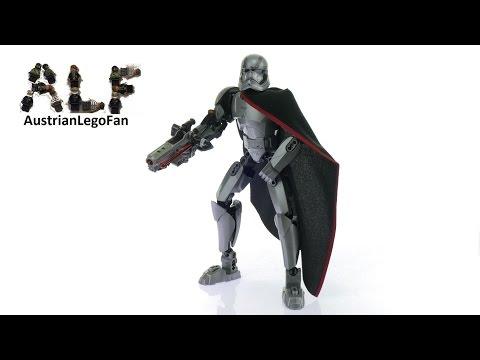 Vidéo LEGO Star Wars 75118 : Capitaine Phasma