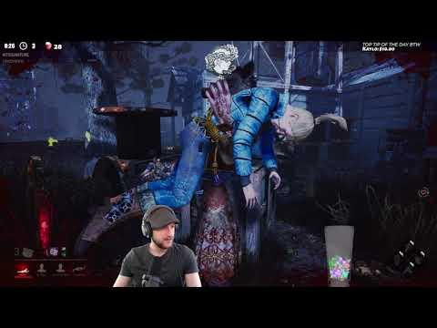EPIC HUNTRESS CHASE! - Dead by Daylight!