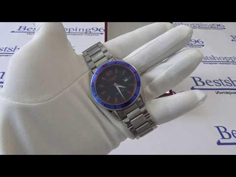 Видео обзор мужских часов LAROS 79609 бр.дата корп-хр циф-чер