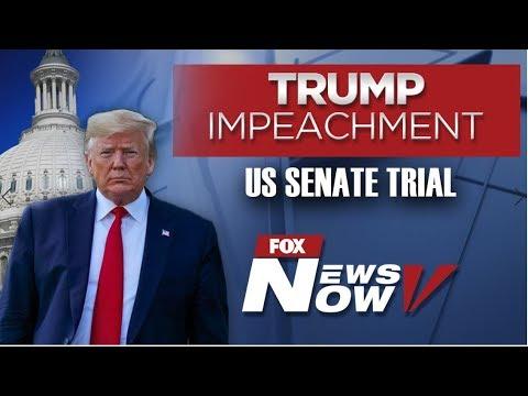 LIVE: President Donald Trump Senate Impeachment Trial - Day 1