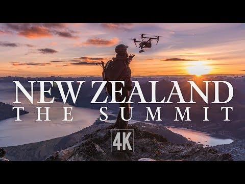 The Summit - Drone Hiking in New Zealand