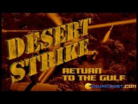 Desert Strike gameplay (PC Game, 1992)