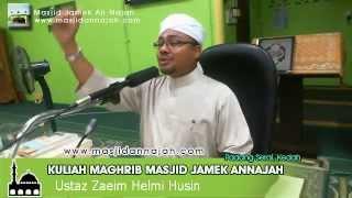 preview picture of video '[LIVE] [161214] Ustaz Zaeim Helmi - Kuliah Maghrib Masjid Padang Serai'