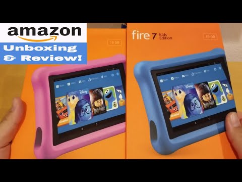 Amazon Fire Tablet 7 Kids Edition – Unboxing and Review