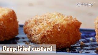 Deep-fried custard – Bánh Sữa Tươi Chiên