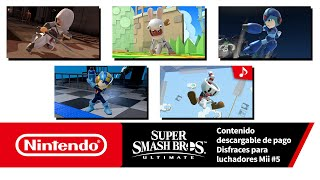 Nintendo Super Smash Bros. Ultimate – Disfraces para luchadores Mii #5 (Nintendo Switch) anuncio