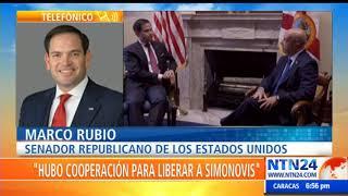 Senador Marco Rubio habla de la llegada del General Figuera a EE.UU y su respaldo a Guaidó