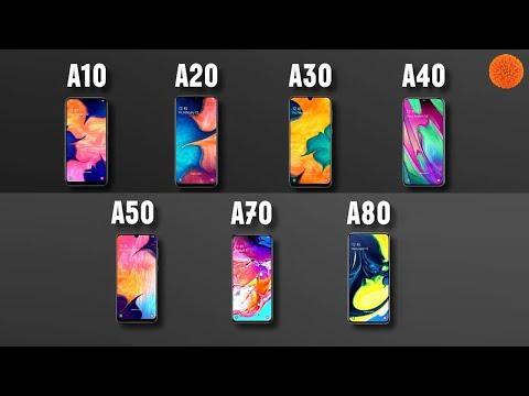 САМЫЙ ПОДРОБНЫЙ обзор-сравнение смартфонов Samsung A 🔥
