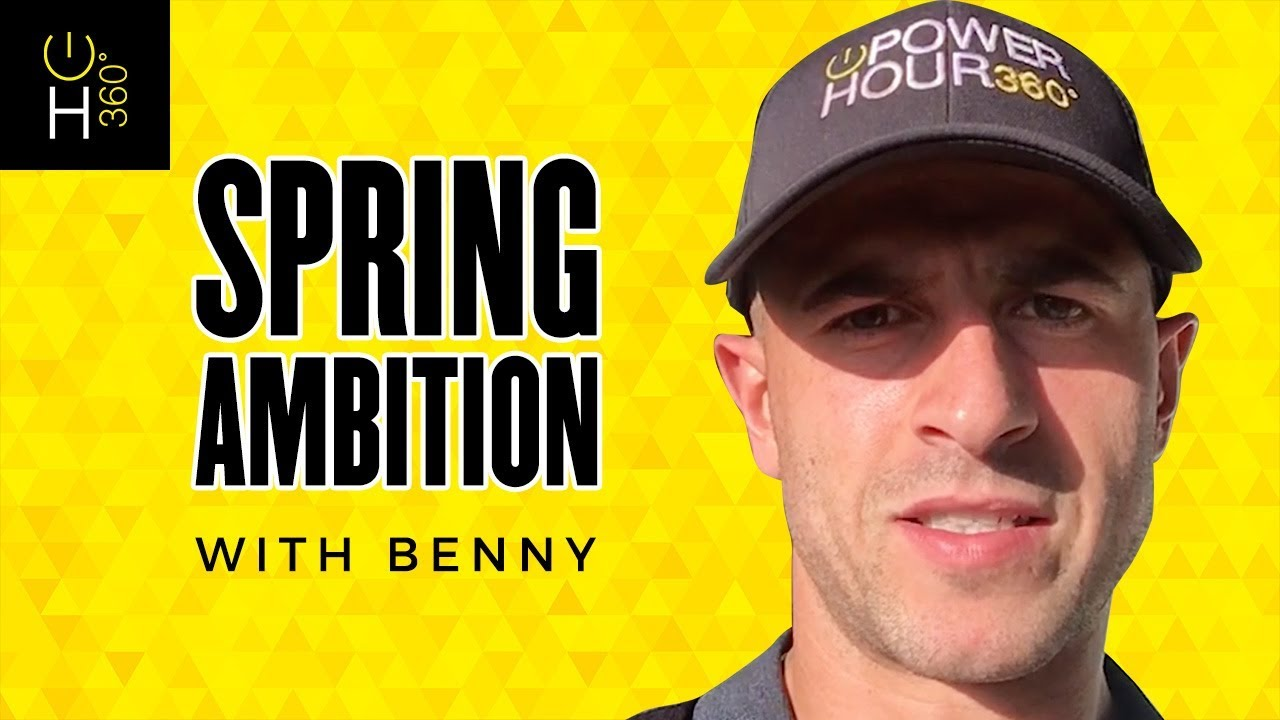Spring Ambition with Benny