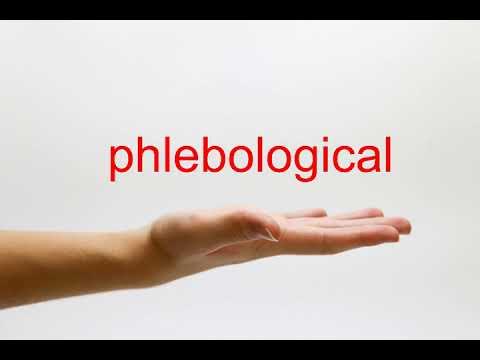 Phlebologist ส่วนบุคคลสิ่งที่