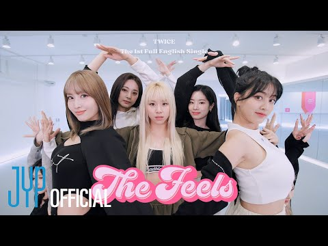 """TWICE """"The Feels"""" Choreography Video (Moving Ver.)"""
