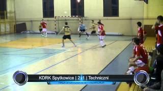 preview picture of video 'KDRK Spytkowice - Techniczni | Podhalańska Liga Futsalu | 21.12.2013'