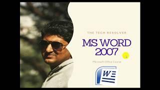 Top Five Ms Office Word 2007 Bangla Tutorial Pdf Free