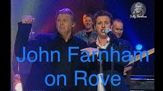 John Farnham on Rove Live for The Last Time