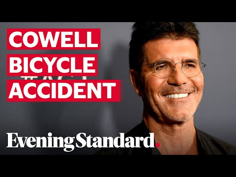 Simon Cowell breaks back while riding electric bicycle around California home