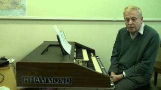 Electronic organ lessons   1 introduction