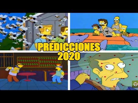 7 Predicciones de Los Simpson que han Sucedido en 2020