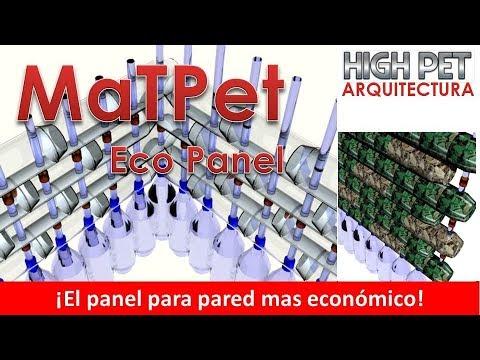 Eco Panel pared o muro MaTPet