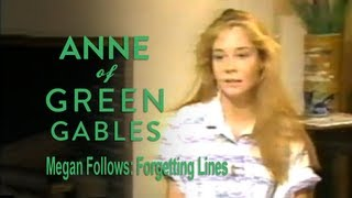 Megan Follows: Forgetting Lines