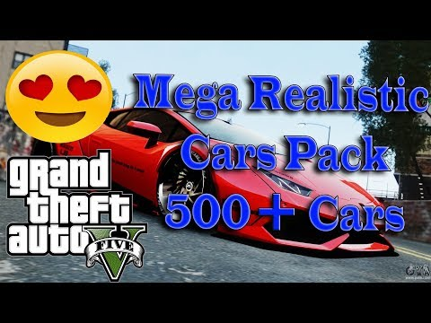 Download Gta 5 All My Real Cars Realistic Car Mod Video 3GP Mp4 FLV