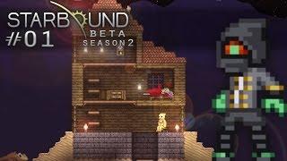 Scythe Plays Starbound -S2E001- New Beginnings [Let's Play Walkthrough]