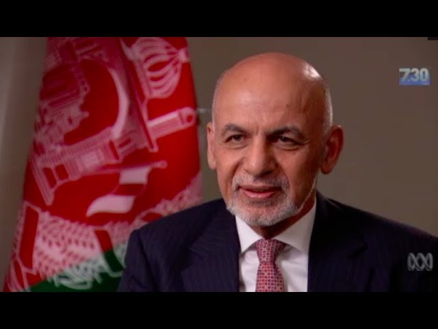 President Ashraf Ghani talks to 7.30 During His Visit to Australia