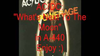 "AC/DC ""What's Next To The Moon"": Retuned A-440 Version"