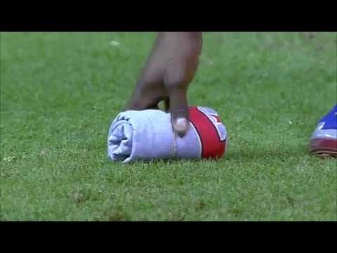 MLB Objects on the Field