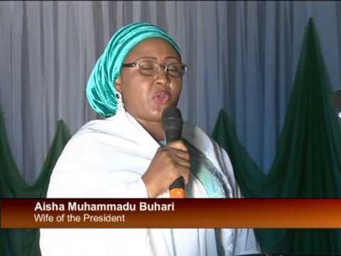 Vice President, Mrs. Buhari Celebrates Ameachi.