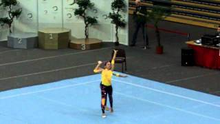preview picture of video 'Katarina Partalas and Taylor Mayo Level 8 Womens Pair Acrobatic Gymnastics Bronze Medal'