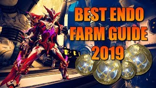 [WARFRAME] Best ENDO Farm Guide  Build 2019