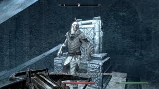 Skyrim - When you realize Mercer Frey wasn't supposed to be here