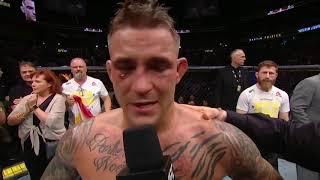 UFC 236: Порье vs Холлоуэй - Слова после боя