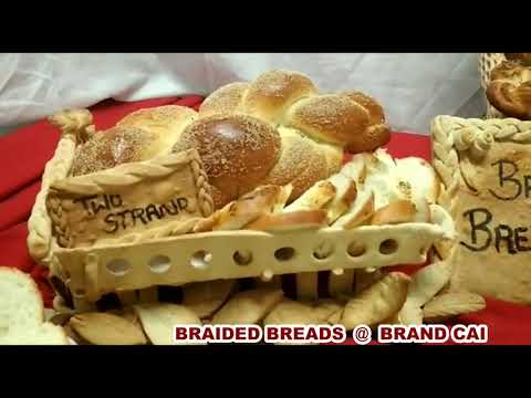 BRAIDED BREADS@Pastr and Bakery courses - YouTube