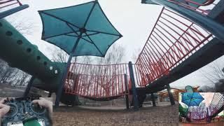 Backwards Tube Roll Challenge + Quad Docking? | FPV Funstyle