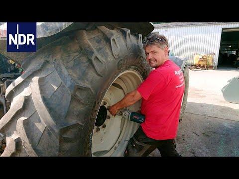 Landmaschinen: Pannenhilfe für Traktoren   die nordreportage   NDR Doku