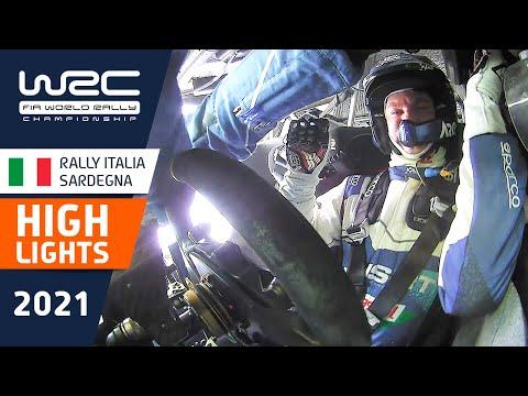 WRC 2021 第5戦ラリー・イタリア SS1-3ハイライト動画