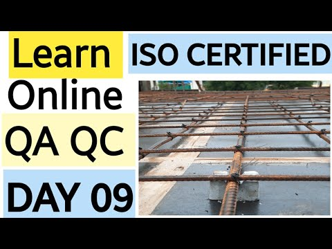 QA QC COURSE WITH ISO CERTIFICATION DAY 9 - YouTube