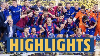 HIGHLIGHTS: UEFA FUTSAL CHAMPIONS LEAGUE FINAL