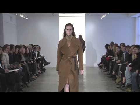 Calvin Klein Collection Pre-Fall 2013 Runway Show - презентация одежды Calvin Klein