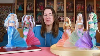 Alle Barbie Color Reveal Meerjungfrauen + ID Codes / Unboxing / Review - Deutsch