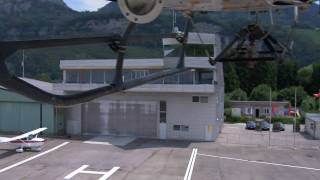 preview picture of video 'Flugplatz Hohenems'